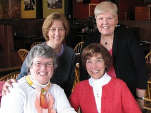 Left to right: Dean Patterson, Judy Dawson Top L-R, myself and Suzanne Cohen