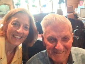 Selfie with Dad at Taste of Maine