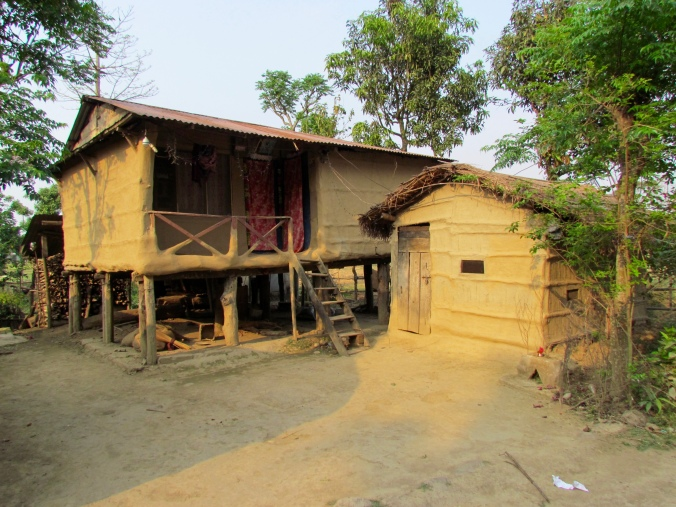 Native Tharu House