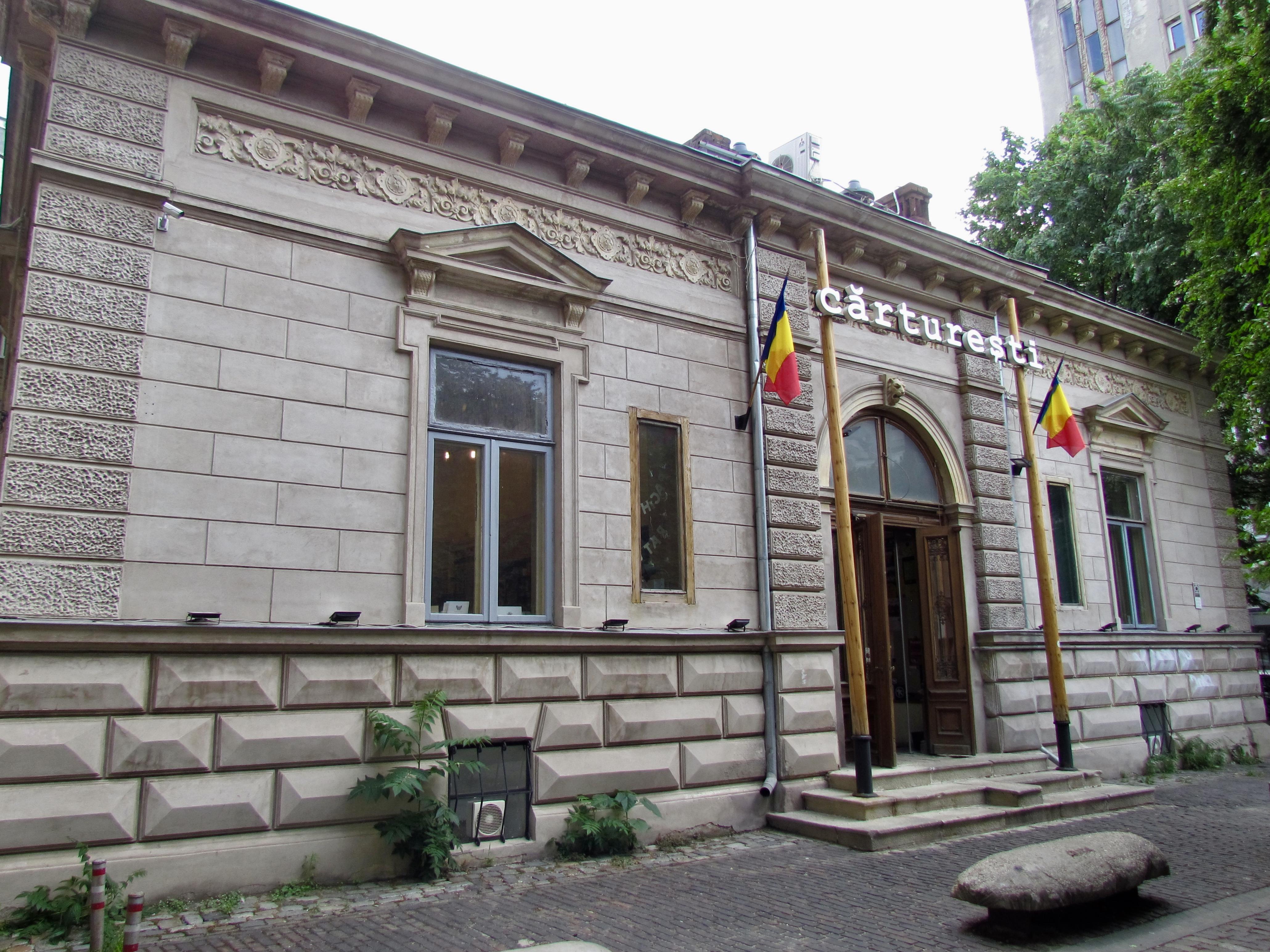 Carturesti Bookstore on Strada Pictor Arthur Verona 13-15, Bucharest