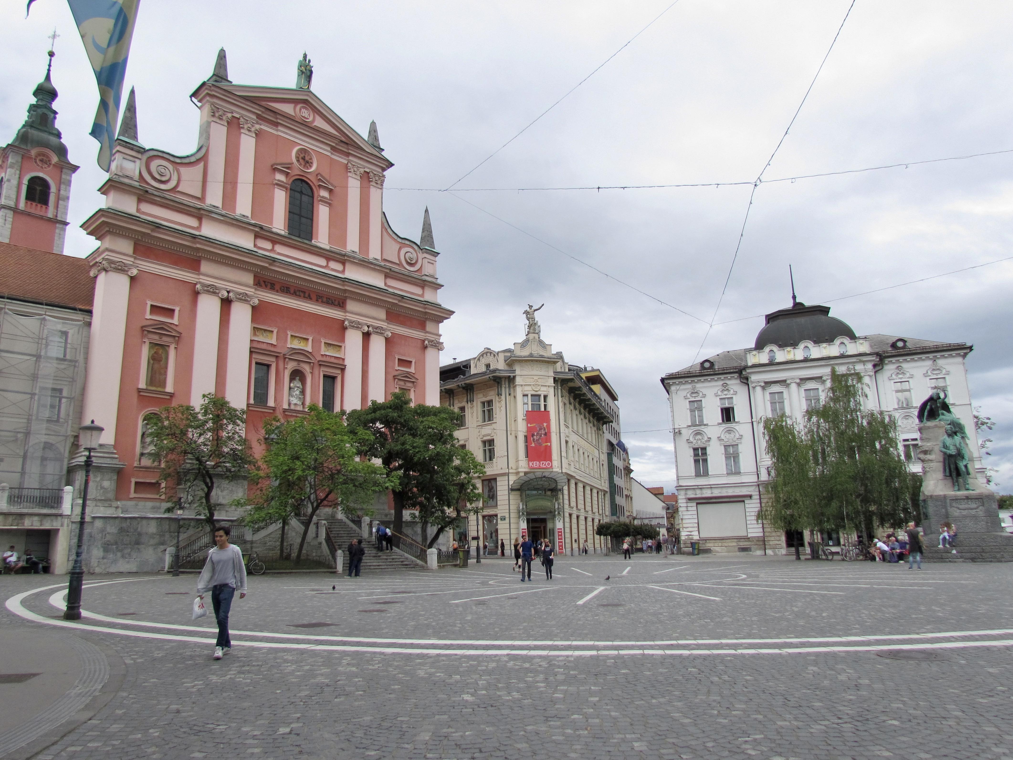 Prešernov Square